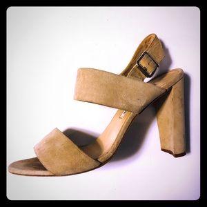 Manolo Blahnik Suede Khan Sandals *PRICE IS FIRM*
